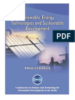 Renewable-Energy Technologies and Sustainable Development (Feb. 2005)
