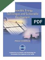 Renewable-Energy Technologies and Sustainable Development (Feb. 2005)