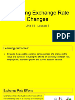 unit 14 - lesson 3 - evaluating exchange rate changes  1   1