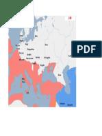 Harta Europa anul 240d.H.