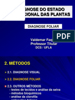 Gcs 110 Diagnose Foliar- Aula Teórica
