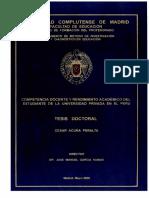 Tesis doctoral de César Acuña Peralta
