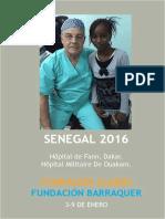 Viaje Humanitario Senegal 2016