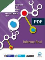Estudio de Consumo UNODC