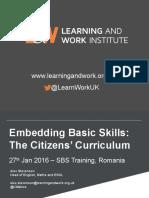sbs training romania citizens curriculum