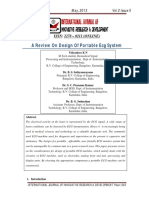 Ieeepro Techno Solutions - Ieee 2013 Embedded Project a Review on Design of Portable Ecg System