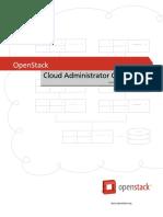 OpenStack Admin Guide Cloud
