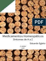 Medicamentos Homeopáticos de A a Z