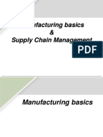 Manufacturing and SCM