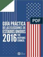 Guía Práctica de las Elecciones de Estados Unidos 2016