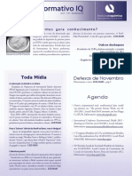Informativo IQ - Novembro 2010