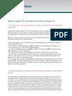 Clarin - Declaración Medios y Libertad de Prensa en Arg