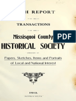 Miss Hist Society 5 Th Fifth Report 1913ad