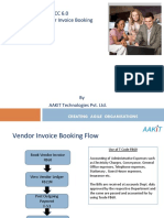 Vendor Invoice Booking and Payment
