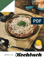 Siebenbürgisches Kochbuch by Martha Liess