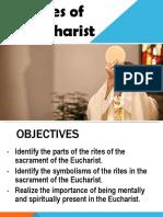 Rites of the Eucharist