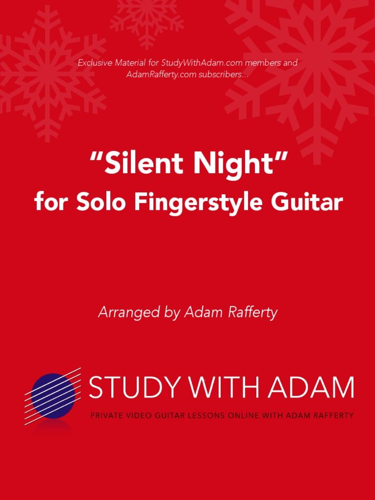 Silent Night Harmony Bass Guitar