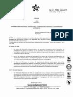 Lineamientos 2016 Sobre Programa Cadena de Formación