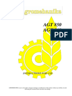 Manuals 2014 - Tractors AGT 850-860 - Eng