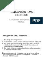 Pengantar Ilmu Ekonomi 1
