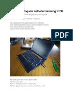 Como Desbloquear Netbook Samsung N150