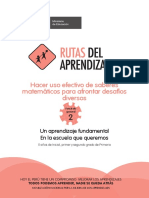 Rutas de Aprendizaje Matematicas