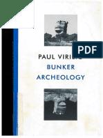 Paul Virilio Bunker Archeology