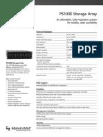 Equallogic PS100E Storage Array