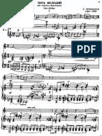 prokofiev - 5 mélodies (violin & piano)