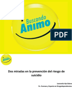 Dos Miradas en La Prevencion Del Riesgo Del Suicidio-leonardo Aja
