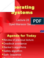 Operating Systems - CS604 Power Point Slides Lecture 28