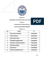 Report on Bangladesh Constitution -Final