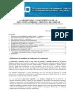 Fundamentos y Características de La Educación Superior a Distancia de Calidad