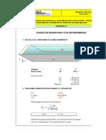 Diseño de reservorio de Geomembrana