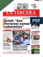 Diario La Tercera 27.01.2016