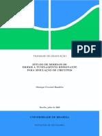 Estudo Do Modelo de Diodos a Tunelamento Ressonante Para Simulacao de Circuitos Programa Em Matlab