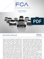 FCA 2015 full year results