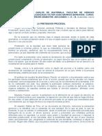 1. La Pretensión Procesal 2014