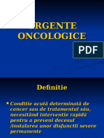 Urgente Oncologice