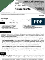HCV - Vidas Con Fruto Abundante - 24Ene2016