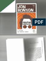 Jon Ronson testul psihopatului