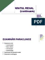 C13 Renal Ex.paraclinice