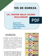 Ensayos de Dureza Diapositivas Milton