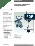 VCTDS-01042 Models Y1 BV-1 RA-Blanketing Regulator-En