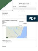 Southwold Call Sheet