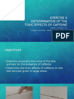 Toxic effects of caffeine