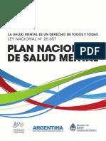 2013 10 29 Plan Nacional Salud Mental