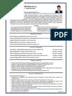Kanagarajan Vadivelan Sales Customer Service Administration Professional(1)