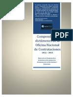 Compendio Dictamenes Onc 2012 2015