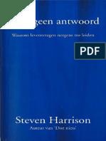 Steven Harrison - Zoek Geen Antwoord